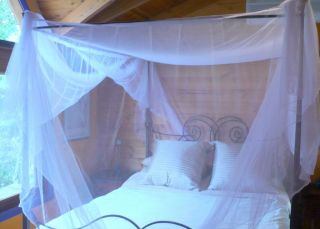4 Poster Bed Canopy Mosquito Net 4 Poster