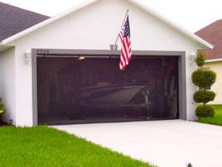 Ez screen garage door screen kit 16 ft x 8 ft for 16 x 8 garage door
