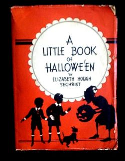 Vintage Little Book of Halloween 1934 Stories Games Fortune Telling
