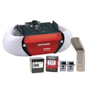 Craftsman 3 4 HP Belt Drive Garage Door Opener 53918
