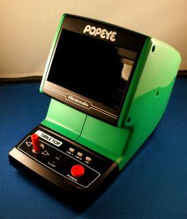 Popeye Tabletop Nintendo Game Watch Electronic Handheld Vintage 1980s