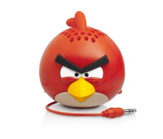Gear4 Angry Birds Classic Red Bird Mini Speaker New