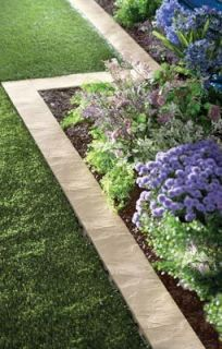Snapping Stone Garden Border Stone Look Border Set 8