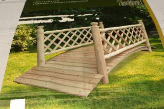how to build a simple garden bridge