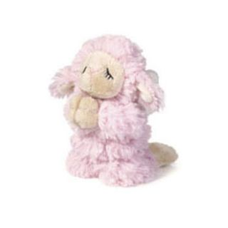 Ganz Plush Baby Ganz Praying Angel Lamb Pink 5 inch Stuffed Animal Toy