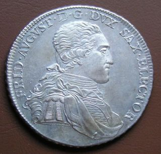 Germany Saxony Silver Thaler 1797 Friedrich August III
