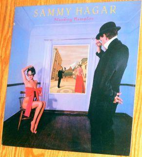 Vinyl LP Sammy Hagar Standing Hampton Geffen