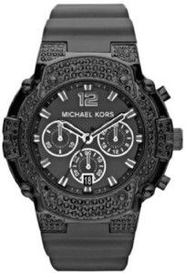 Michael Kors MK5510 Womens Gemma Chronograph Black Ladies Sports