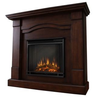 Real Flame Frisco Electric Fireplace Heater Expresso
