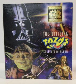 Frito Lay Australia Star Wars Tazo Disp Album Checklist