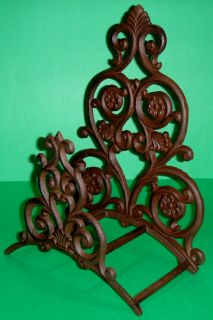 Cast Iron Victorian Style Garden Hose Holder Wall Mount