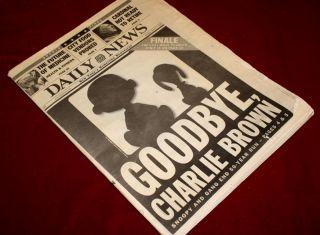 PEANUTS Signed GEORGE SCHULTZ, Original Snoopy ART, COA, UACC 228
