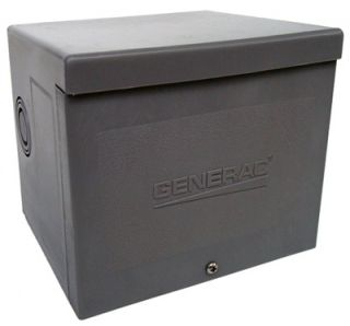 30A Resin Outdoor Power Inlet Box for Portable Generators