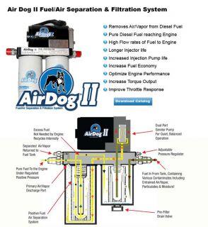 Airdog 2 Fuel System Chevy Duramax Diesel DF 165 01 09