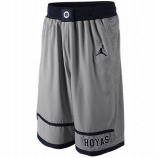 Nike Jordan Georgetown Hoyas Mens College Basketball Shorts UK L