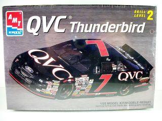 Geoff Bodine #7 QVC Thunderbird AMT ERTL Kit #8161 NASCAR Series Year