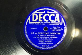 12 Vintage 78 RPM Records Ink Spots Woody Herman Bing Tommy Dorsey