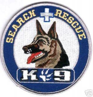 DOG CANINE K 9 MP SWAT GERMAN SHEPHERD SEARCH RESCUE CANINE K 9 PATCH