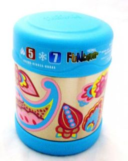 Thermos Paisley Flower Funtainer Insulated Stainless Steel Food Jar 10