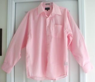 George Martin Pink Shirt with Pocket M 15 15 5 32 33