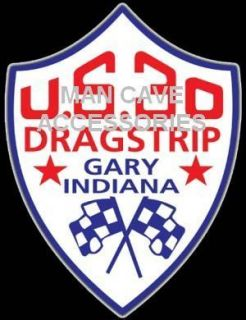 US 30 Dragstrip Gary in Vinyl Decal Sticker NHRA IHRA