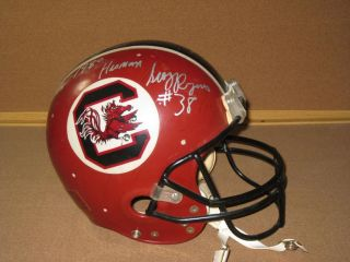 George Rogers Signed University of South Carolina Gamecocks Football