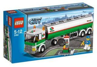 3180 Tank Truck Lego City Town Gas Fuel New NISB