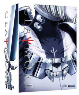 you are looking at claymore complete collection dvd box set condition
