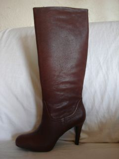 Enzo Angiolini Gibbons Womens Shoes Size 8 5 Brown Boots Knee High