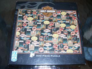 Harley Davidson 500 Pcs Puzzle by FX Schmid