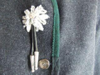 Giesswein Gray Wool Austria Cardigan Walk Jacket 38 8 M