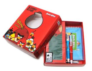 Angry Birds Stationery Gift Box,Useful Stationery Set_pencil case