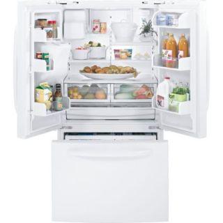 GE Adora 28 5 CU ft French Door Refrigerator Ice Water White