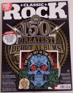 Classic Rock Free CD 150 Greatest Debut Albums Ozzy Oct