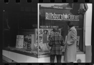 Pittsburgh Courier Black African American Chicago Edition News Photo