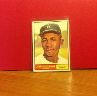 1961 Topps Card Number 238 Jim Gilliam