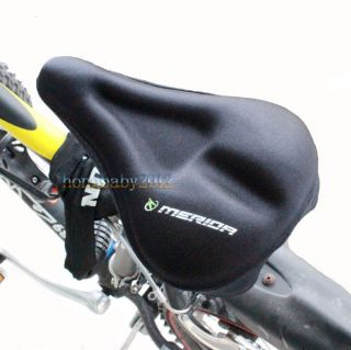 Bicycle Soft Silicone Pad Saddle Silica Gel Cushion Seat Cover