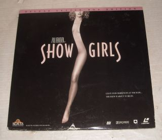 Movie Laserdisc 1995 Showgirls Elizabeth Berkley Gina Gershon