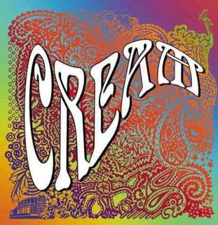 Eric Clapton Ginger Baker Jack Bruce Cream 2005 Program