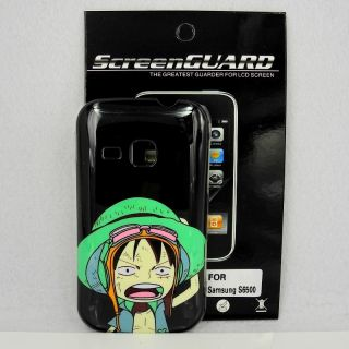 Samsung Galaxy Mini 2 S6500 One Piece Case Screen Protector