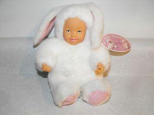Anne Geddes Baby Bunny Rabbit Bean Plush Doll