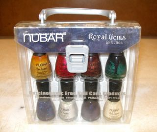 Nubar Royal Gems Collection Nail Lacquer 8pcs Set