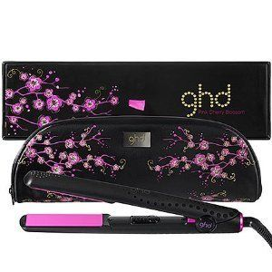 GHD Pink Cherry Blossom Limited Edition Flat Iron Hair Straightener