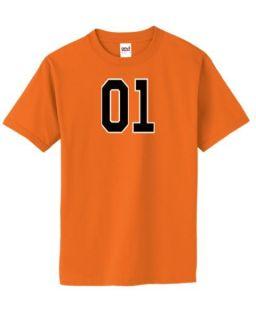 General Lee 01 Mens Orange T Shirt Retro Funny New