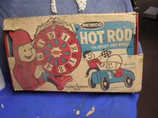 50s Giant Wheel Hot Rod Board Game by Remco