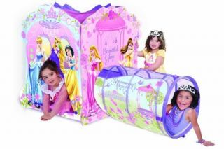 Play Tent Disney Princess Castle Kids Girls Toy Indoor Outdoor Fun