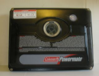 Coleman Powermate Generator Black Gas Tank 1750 Max Watt 2007 Next 2