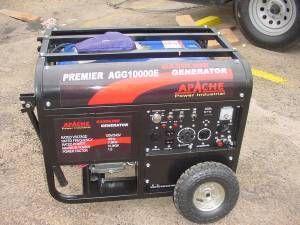 Apache Gas Generator AGG10000E Brand New w warranty key start
