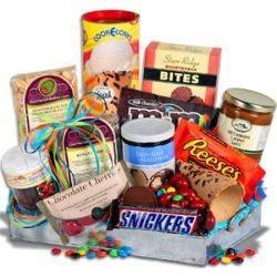 Ice Cream Social Gift Basket