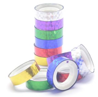 Colorful Gift Adhesive Stickers Craft Laser Decoration Tape Stationery